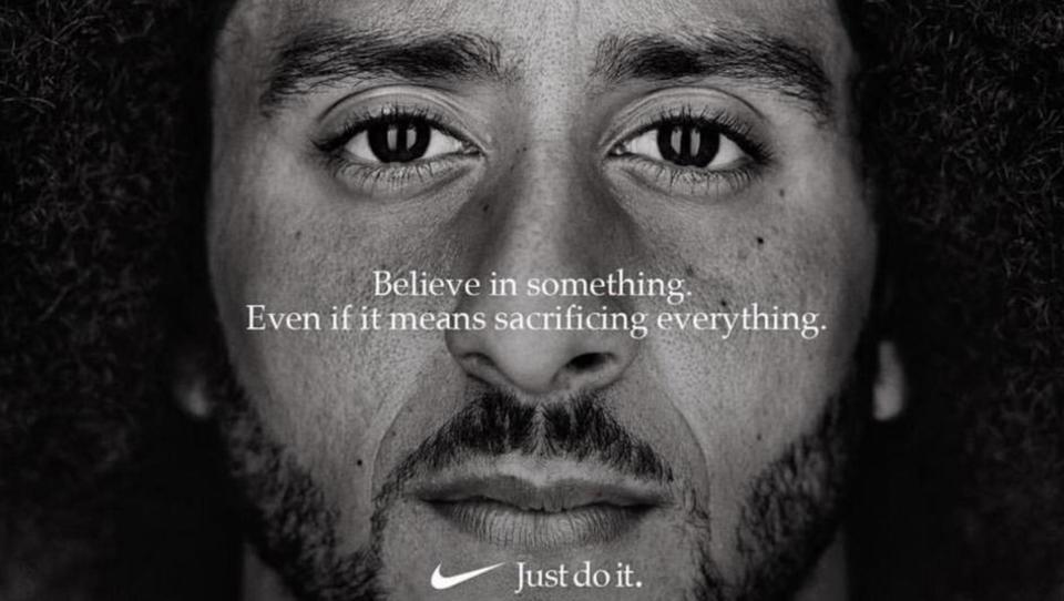 Kako je Nike z oglasom sprovociral Trumpa in povečal vrednost podjetja