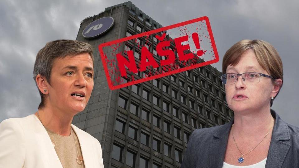 Kaj je pri Vestagerjevi v zvezi z NLB slišala ministrica Vraničarjeva