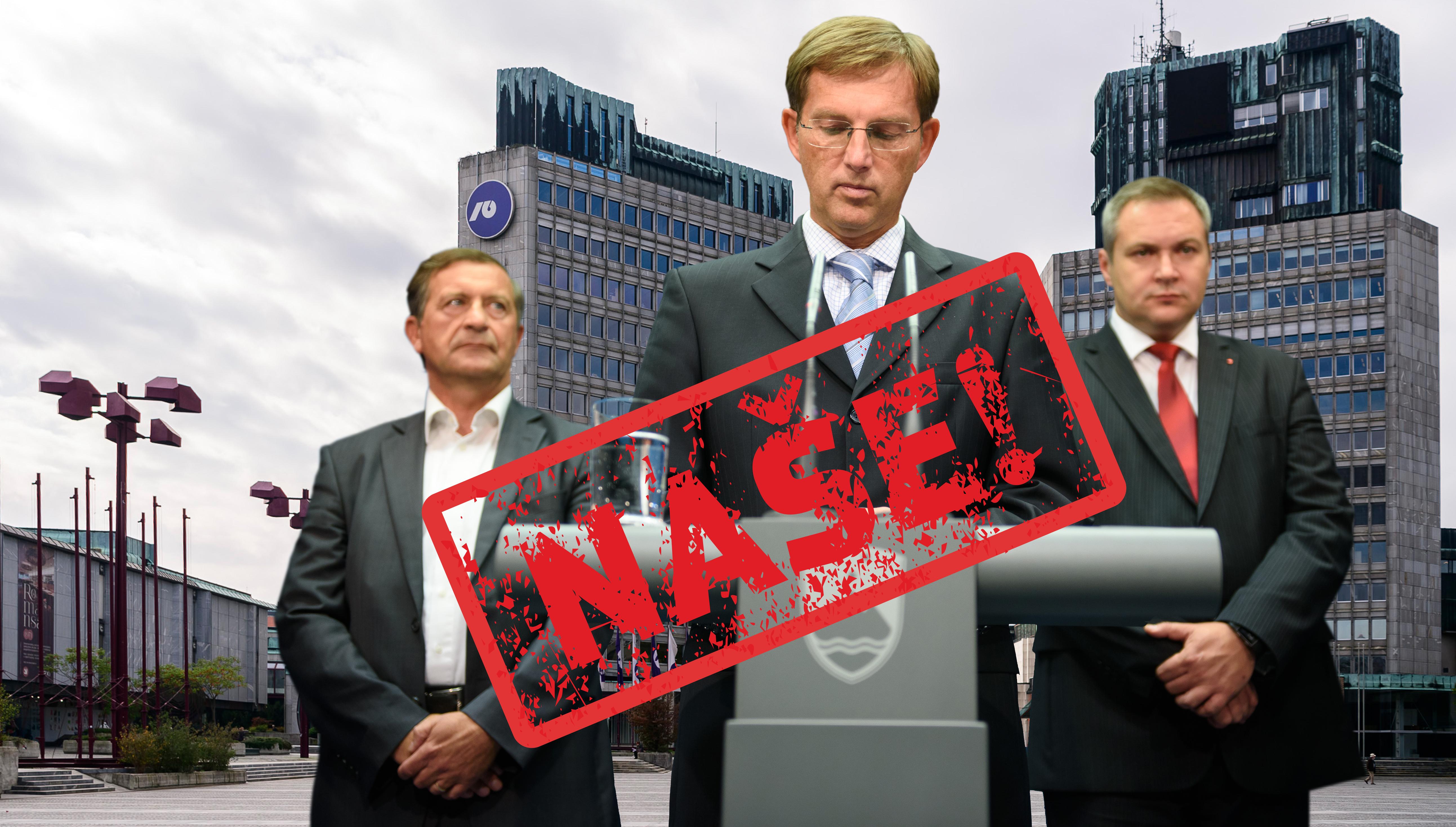 Cerarjeva vlada bo NLB dala jamstva – lani je trdila, 'da se to ne da'