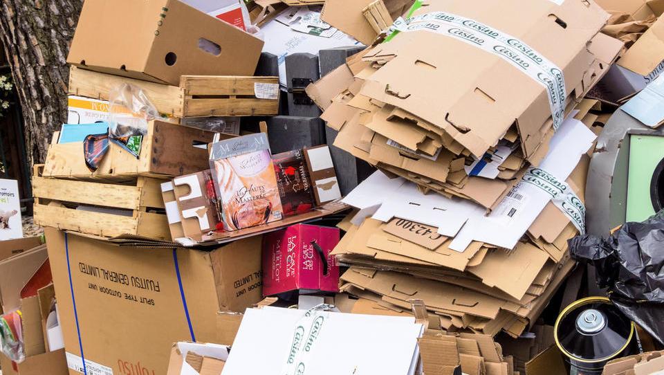Vlada določila deleže za prevzem odpadne embalaže