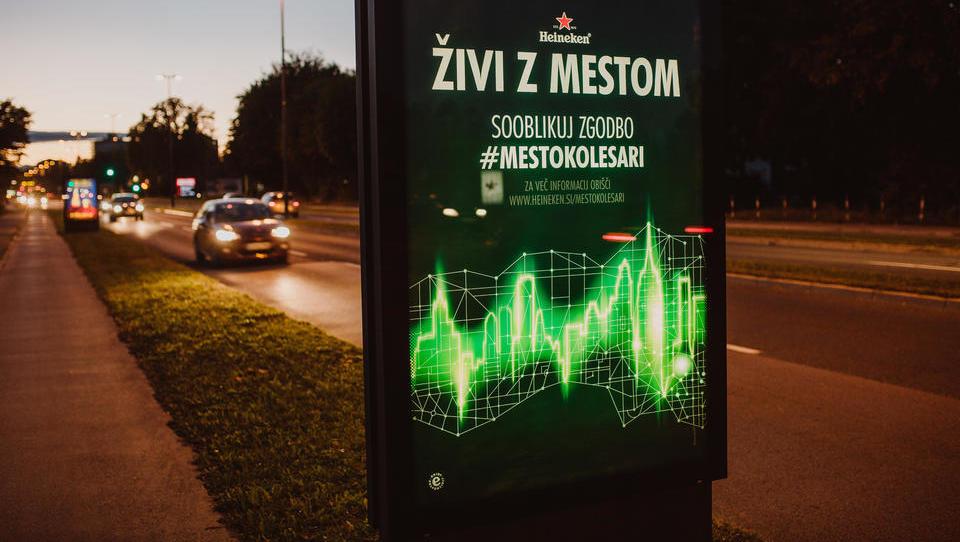 Heineken bo v Ljubljani prenovil kolesarske poti