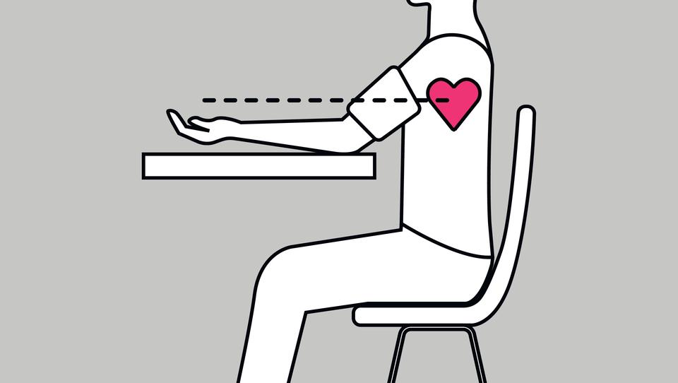 Pravilno merjenje krvnega tlaka