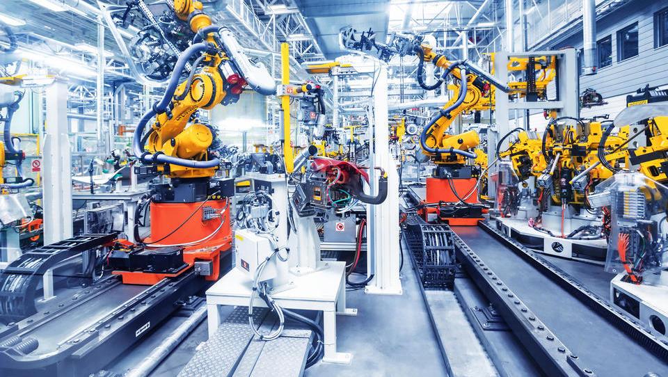 Evrsko gospodarstvo februarja manj živahno