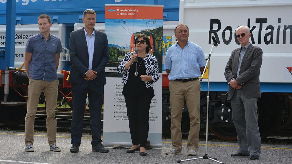 Slovenske železnice posodabljajo vozni park tovornih vagonov