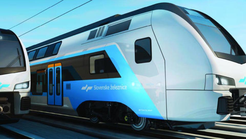 Stadler investira v proizvodnjo dvonadstropnih vlakov