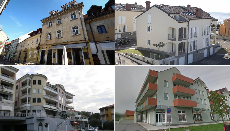 Od Prekmurja do Obale: 20 stanovanj, ki jih lahko kupite na dražbah