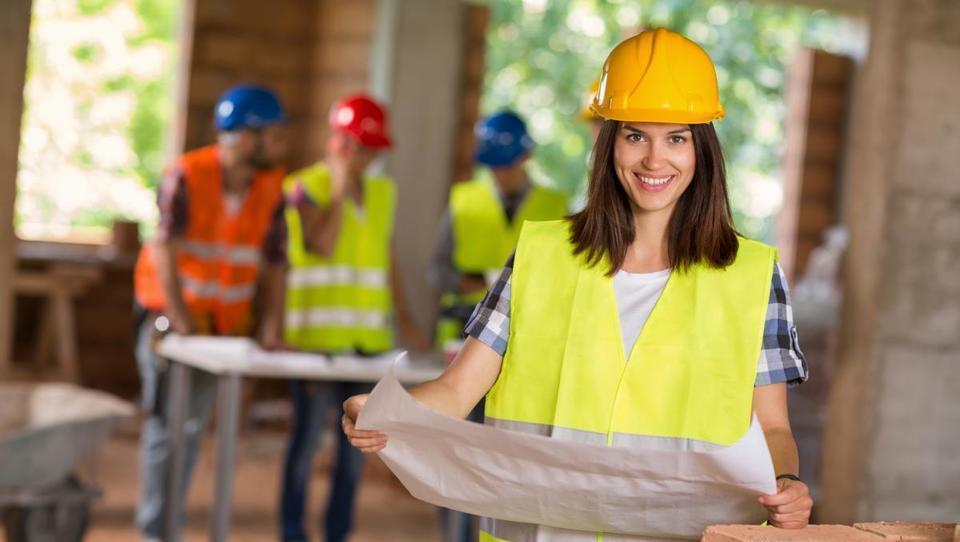 Vpis na študij gradbeništva je nehal upadati