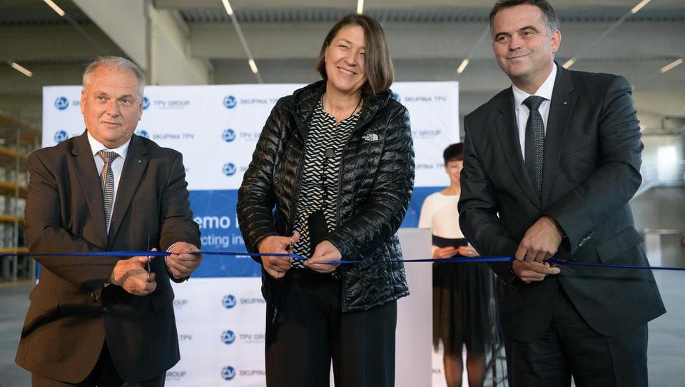 Dolenjski TPV odprl 20-milijonsko naložbo v pametno tovarno