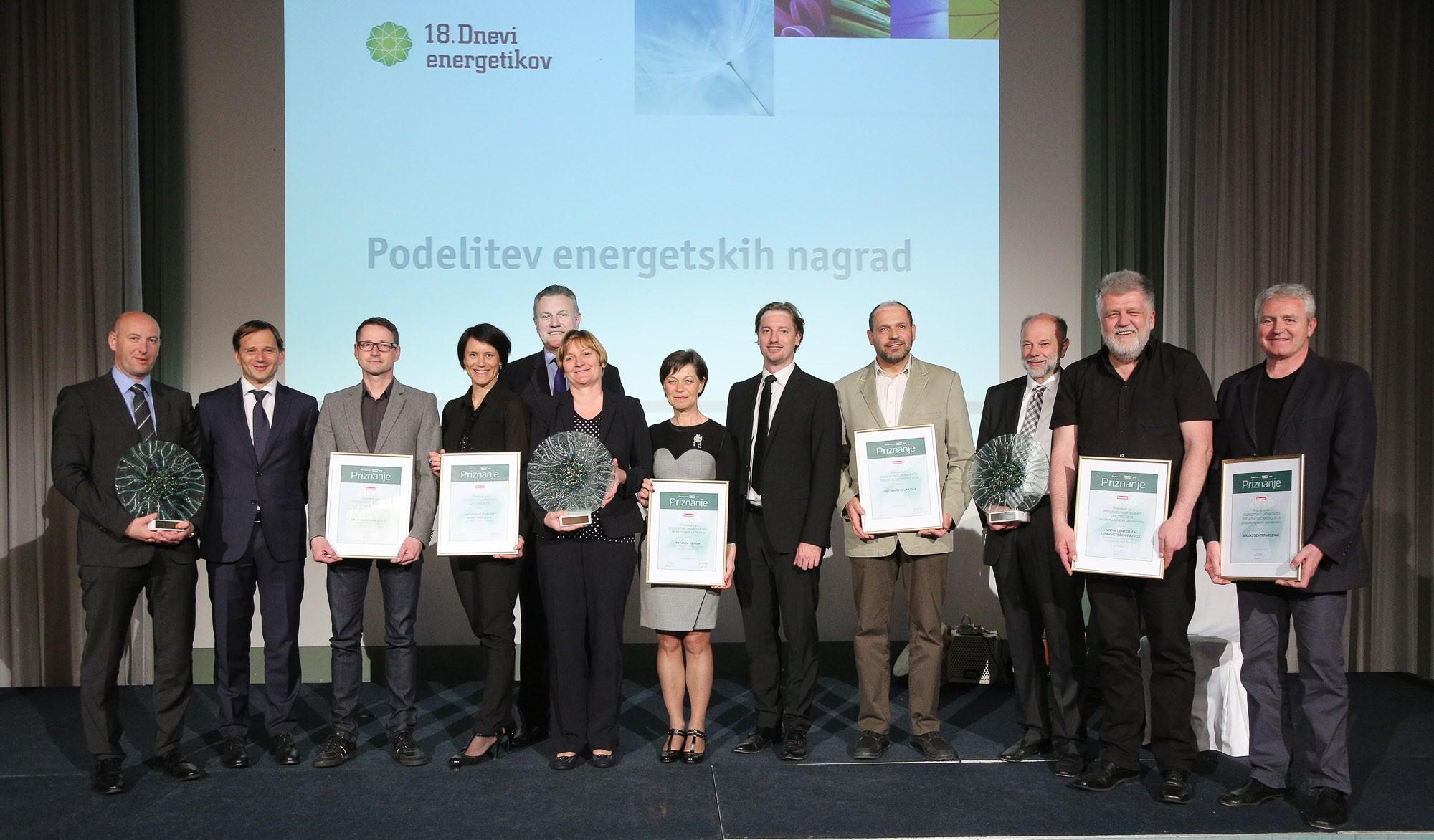 Znani so prejemniki letošnjih energetskih nagrad!