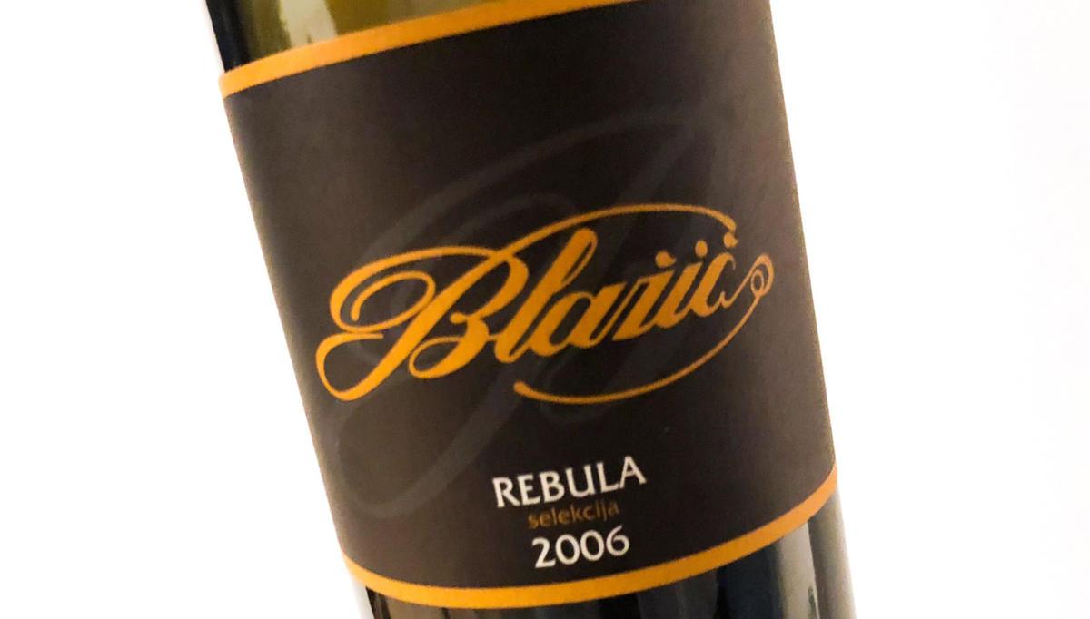 Vino tedna: Rebula selekcija 2006, Blažič